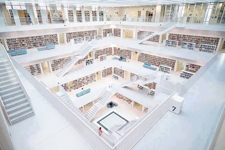 Stadtbibliothek Stuttgart Library
