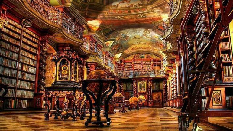 The National Library Of Prague – Czech Republic