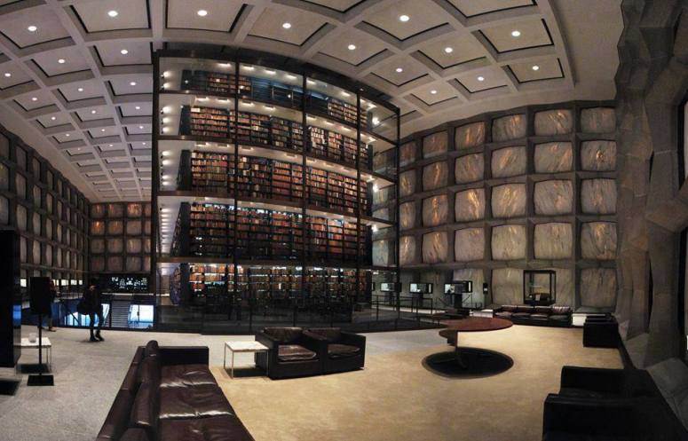 Yale's Beinecke Rare Book & Manuscript Library